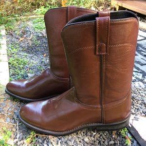 Laredo Men's Brown Cowboy Boots 11 D